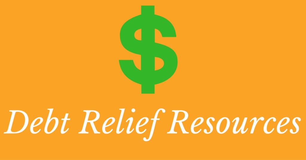 debt relief resources for debt help